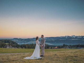 Ganz weit oben - Hochzeit auf dem Berg